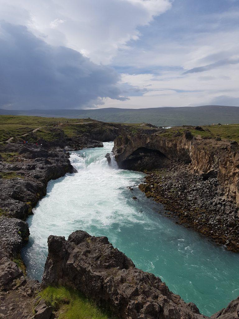 Waterval bij Mývatn