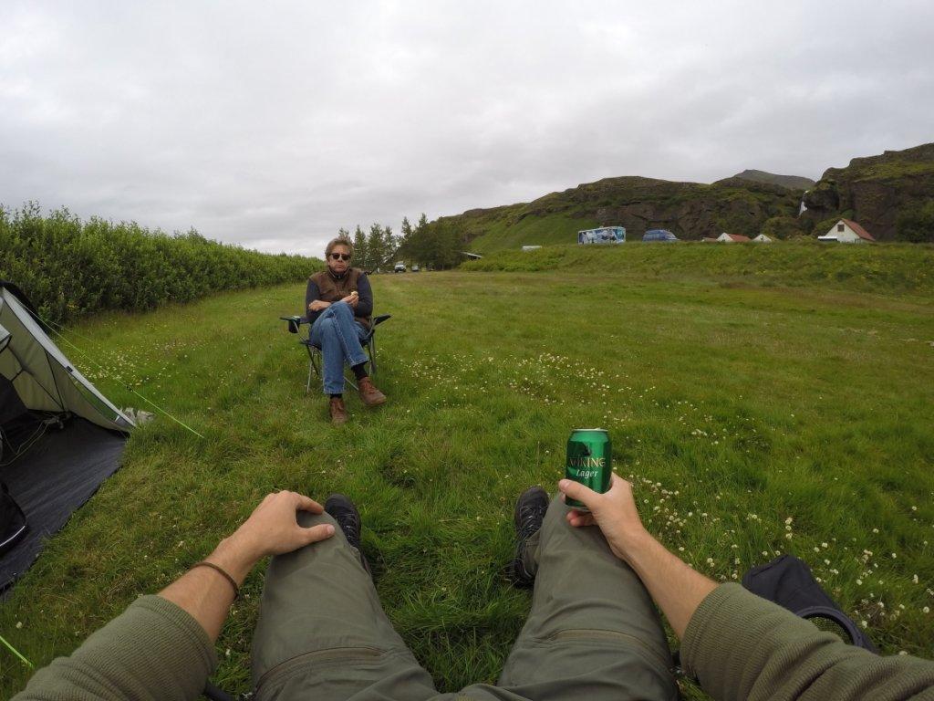 camping Seljalandsfoss