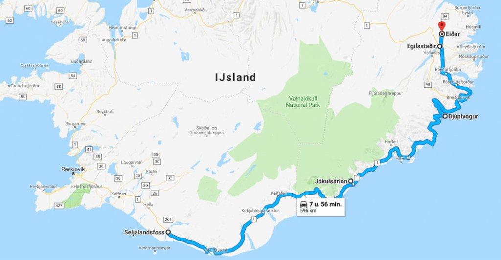 roadtrip ijsland - zuidkust