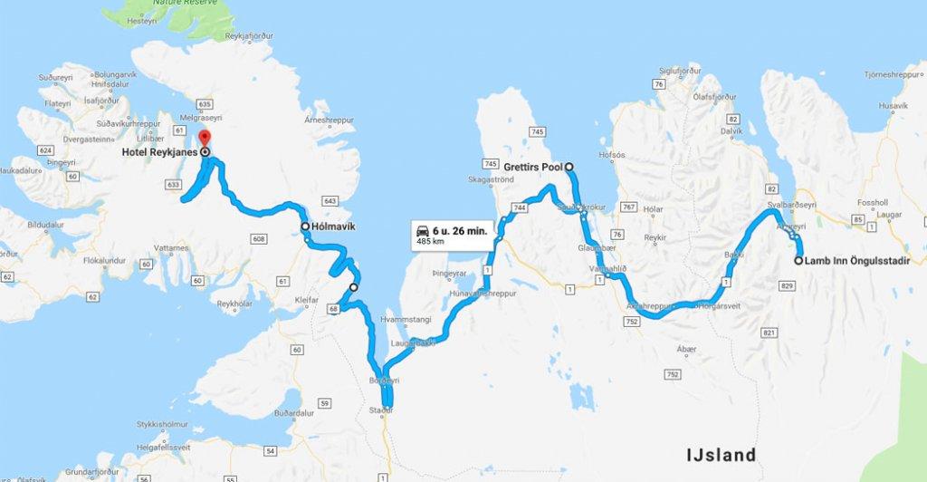 roadtrip ijsland - noordkust