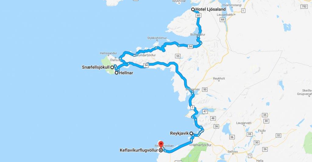 roadtrip ijsland - westkust