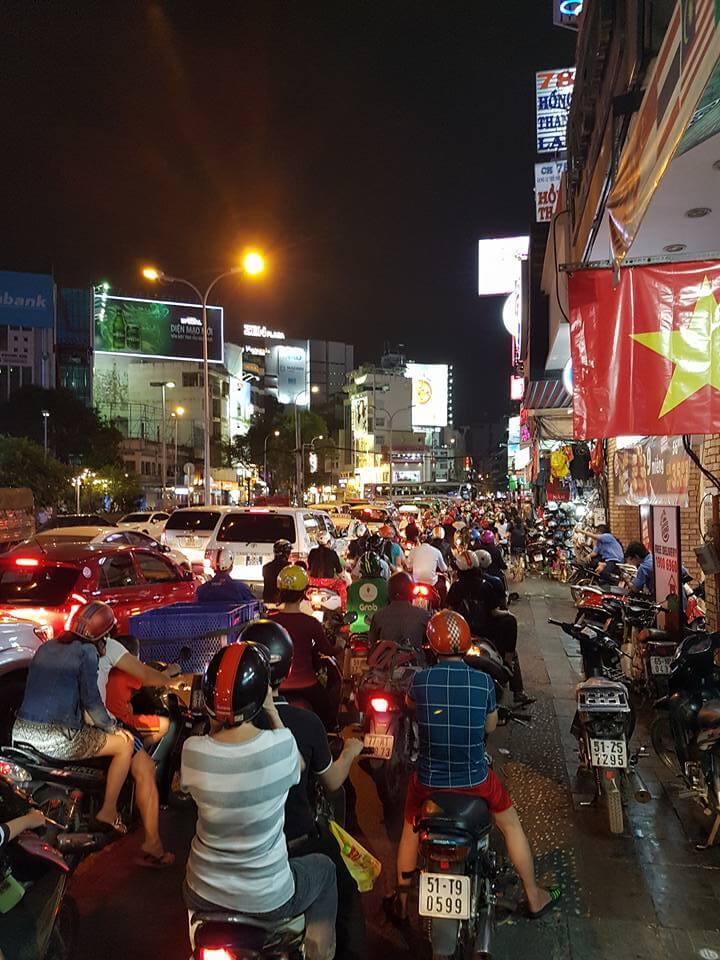 Drukte Ho Chi Minh City