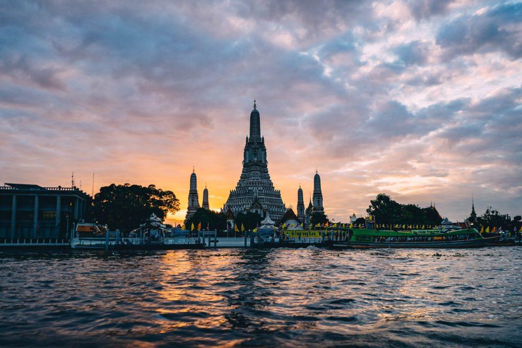 Bangkok Rivier Thailand