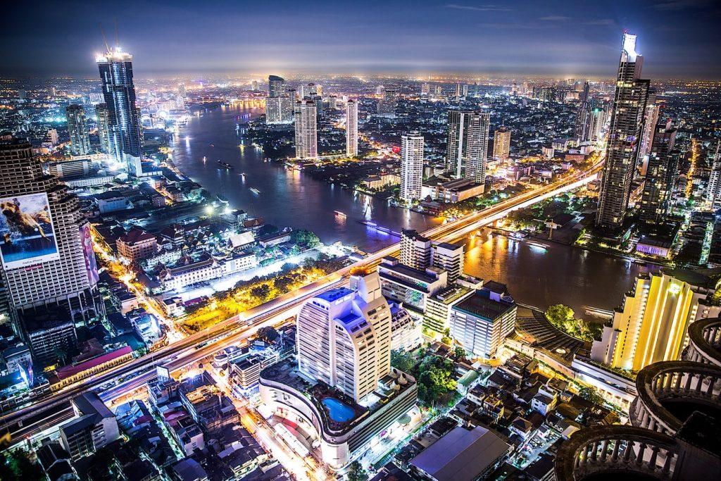 Bangkok Thailand Citylights View