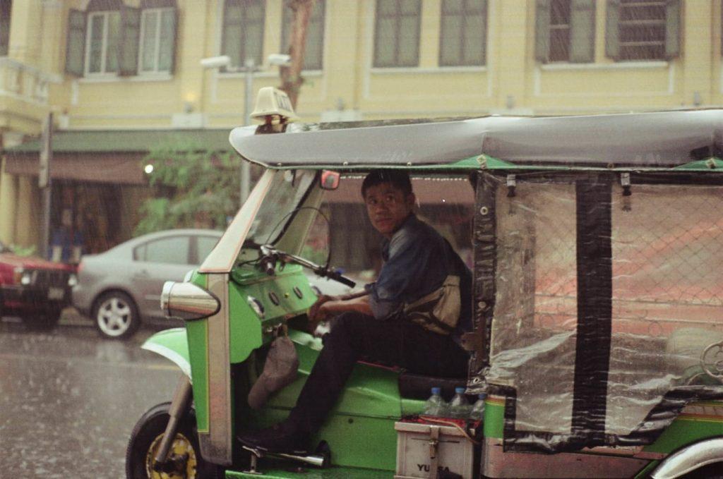 Regenseizoen Thailand TukTuk